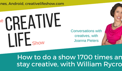 How to do a show 1700 times and still stay creative, with William Rycroft