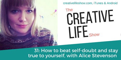 How to beat self-doubt but stay true to yourself, with illustrator-turned-author Alice Stevenson