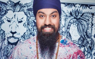 How to get 3 million viewers and still create with joy, with artist Amrit Singh