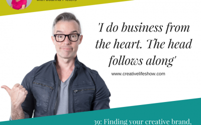 Finding your creative brand, with Jonathan Tilley